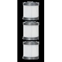 3 Filtri HEPA Livington Prime Ultimate - La Scopa Elettrica Senza Filo 3in1 l'unica con Tubo Pieghevole