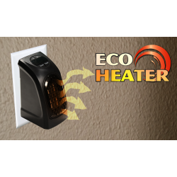 Eco Heater - La Stufetta Elettrica Portatile a Basso Consumo