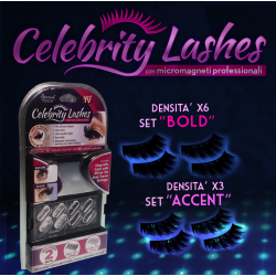 Celebrity Lashes - Ciglia Extra Lunghe e Voluminose