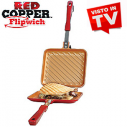 Red Copper Flipwich - La Piastra Multiuso
