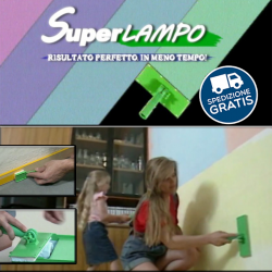 Superlampo® - Il modo più facile e pulito di tinteggiare casa