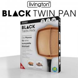 Black Twin Pan - la padella con divisore