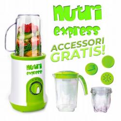 Nutri Express ® - frullatore, estrattore e tritatutto