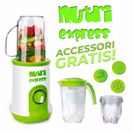 Nutriexpress ® - frullatore, estrattore e tritatutto