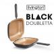 Black Doubletta - Il Nuovo Sistema di Cottura a Doppia Padella Antiaderente