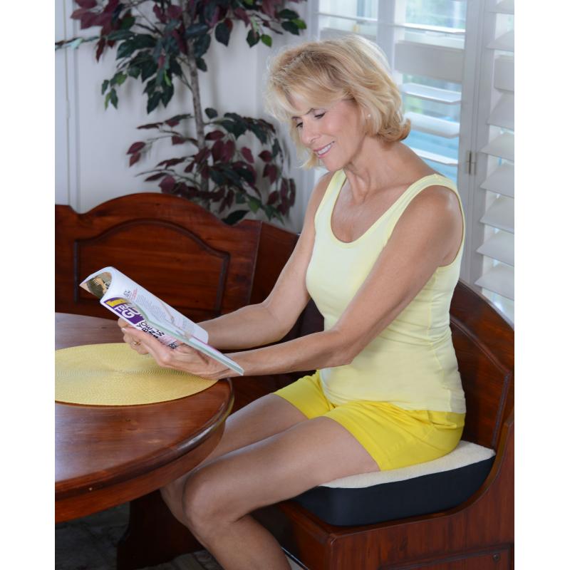 Dualuxe il cuscino da seduta ergonomico benessere Mediaset ...