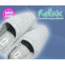 Relax Slippers - le pantofole con gel antifatica