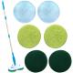 Floor Police ® - Spin Mop automatico ricaricabile senza fili