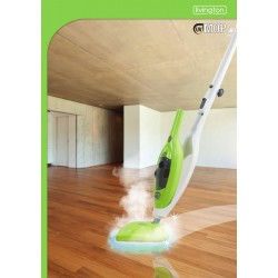 Livington UV Mop - Scopa a vapore con raggi UV con kit di 8 accessori