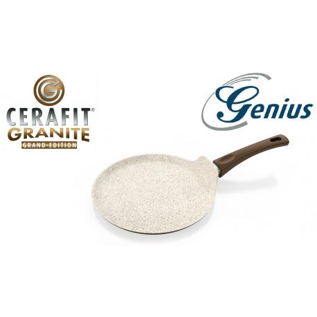 Genius Cerafit® Granite - Padella per Crepes (26 cm) in Granito Antigraffio