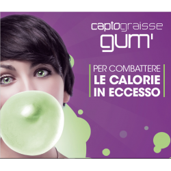Captograisse Gum - Il Vostro Brucia Grassi Per Una Liena Perfetta