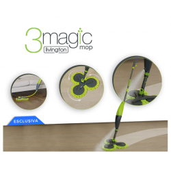 3 Magic Mop Livington + detergenti Omaggio
