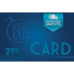 ECL Card - Spedizione gratuita immediata e sconto 20% su ordini successivi