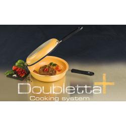 Doubletta Plus - Il Nuovo Sistema di Cottura a Doppia Padella Antiaderente