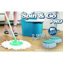 Spin & Go Pro® - Il Vero Mocio Rotante in Microfibra Visto in TV - Con 2°Testa in OMAGGIO e SPEDIZIONE GRATUITA