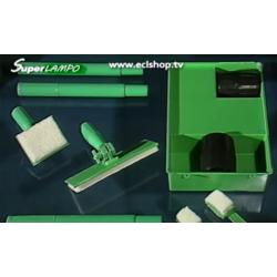 4 tamponi in lana mohair di diverse dimensioni per Superlampo®