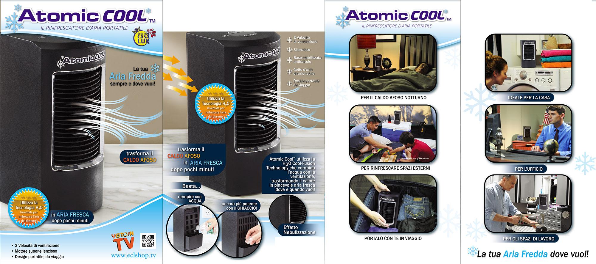 Atomic Cool Il Rinfrescatore D'Aria Portatile