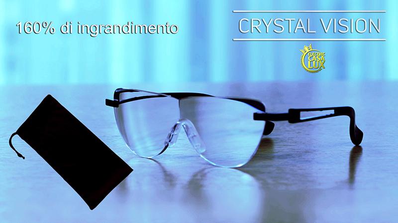 Crystal Vision Occhiali in Policarbonato Cristallino