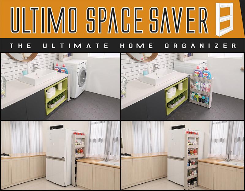Ultimo Space Saver soluzione salvaspazio per ottimizzare al meglio gli spazi di casa