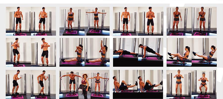 Esercizi Wayflex Corewave Per un Vero Allenamento Total Body