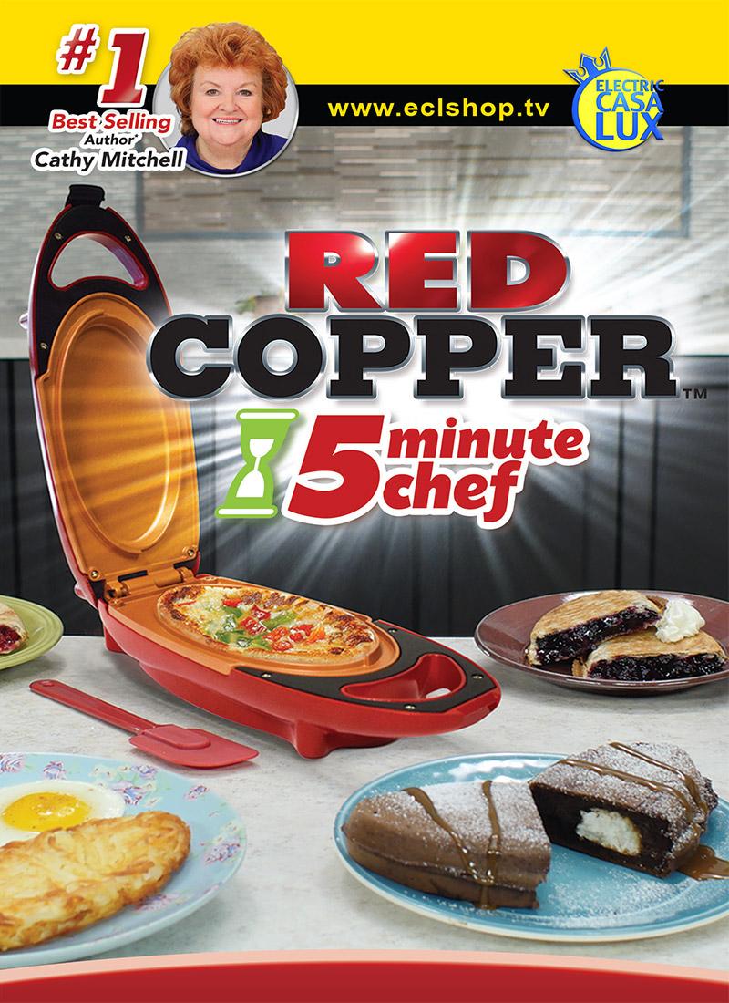 red copper 5 minute Chef visto in TV