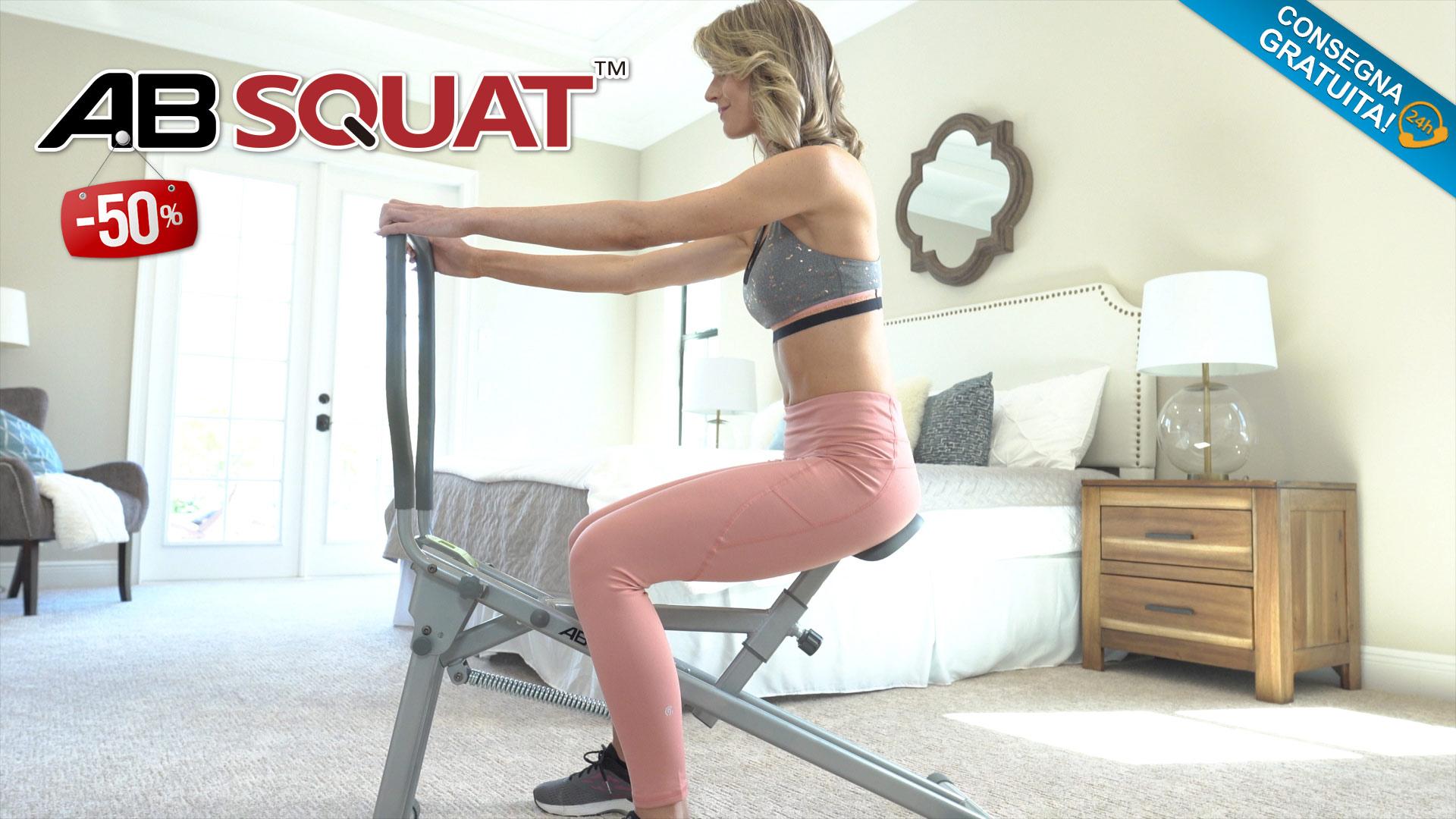 Ab Squat ® il più performante attrezzo fitness per perdere peso