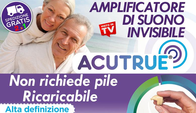 Acutrue - Il più Performante MicroDispositivo Acustico Ricaricabile