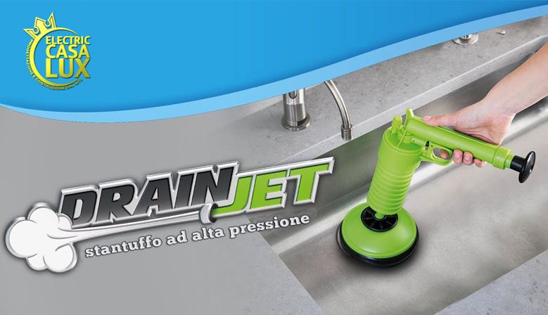 Ordina Adesso Drain Jet con 3 adattatori in omaggio a soli € 49,99 con spese di trasporto gratuite!!!