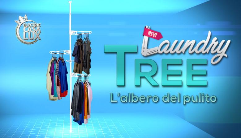 Laundry Tree - L'Albero del Pulito - Il Portabiancheria che estende lo spazio del guardaroba