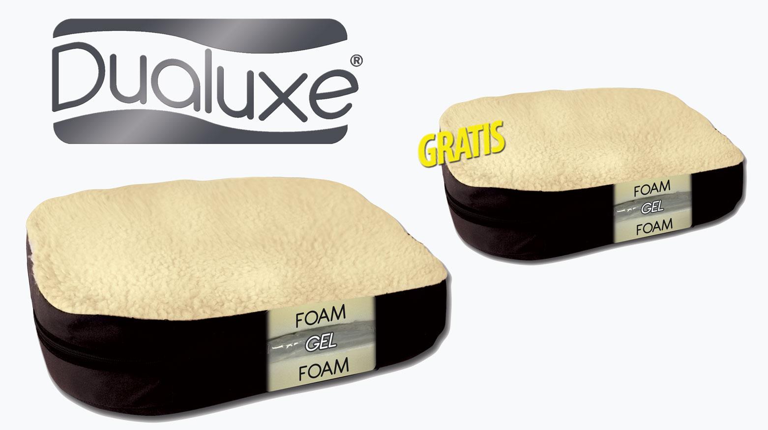 Dualuxe ® - Il cuscino da seduta ergonomico per il tuo Benessere - offerta 2x1
