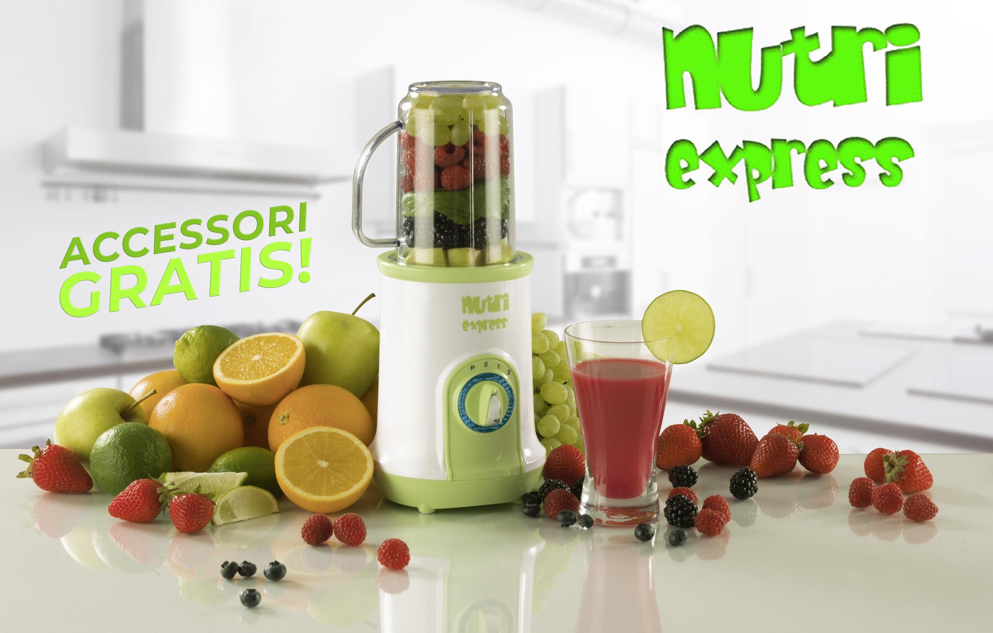 Nutri Express - frullatore, estrattore, tritatutto