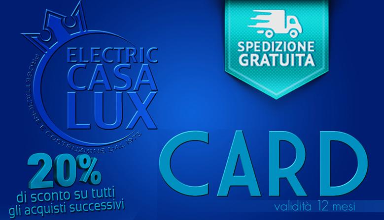 ECL CARD: la carta VIP, -20% e spedizione gratuita
