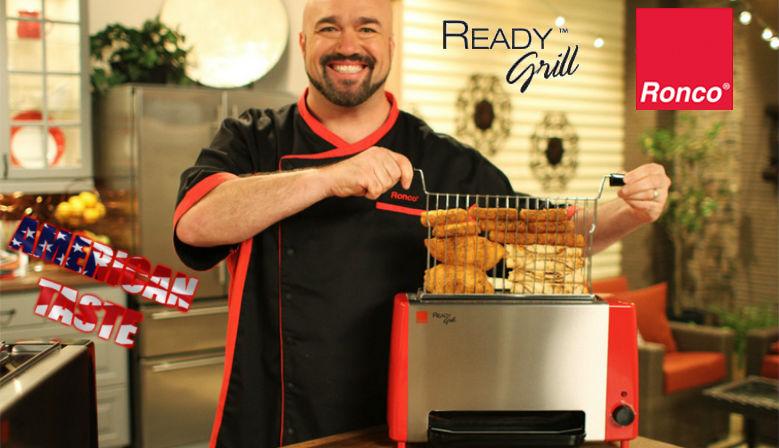 Ronco Ready Grill griglia verticale