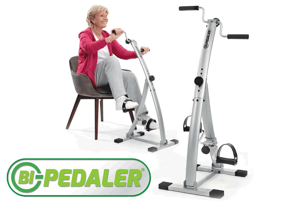 Bi-Pedaler ® la cyclette per gambe e braccia per riabilitazione e fisioterapia