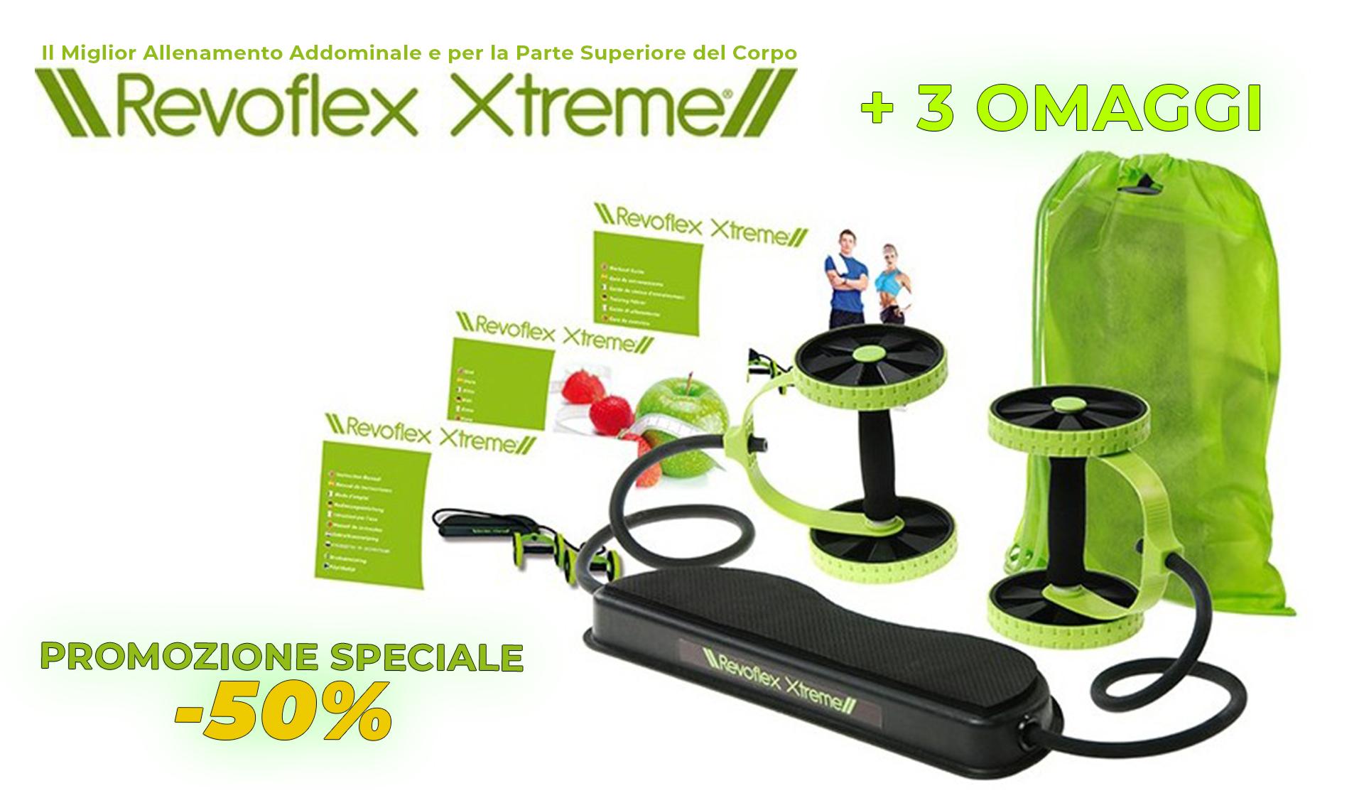 Revoflex Xtreme Il Miglior Allenamento Addominale e per la Parte Superiore del Corpo